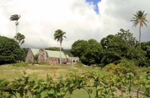 St Thomas' Anglican Church in Half Way Tree Village, Saint Kitts.