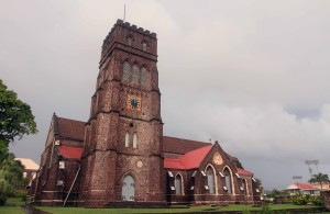 St. George's Anglican Church (consecrated in 1859 AD), in Basseterre.
