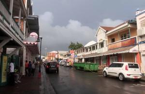 Street in Basseterre.