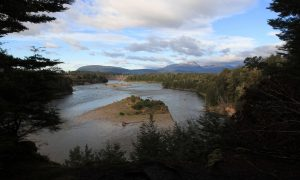 The Waiau River.