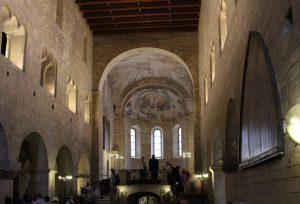 The interior of St. George's Basilica.