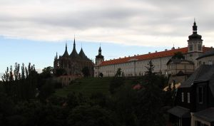 St. Barbara's Church in Kutná Hora.