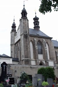 The Chapel of All Saints in Kutná Hora; underneath is the Sedlec Ossuary.