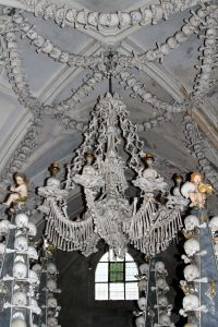 Chandelier made from