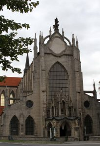 The Church of the Assumption of Our Lady and Saint John the Baptist in Kutná Hora.