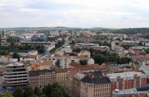 Brno seen from Petrov Hill.