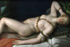 'Resting Venus' by Dirk de Quade van Ravesteyn (1608 AD).