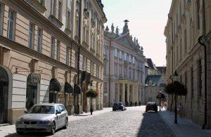 Primate's Palace seen from Klobučnícka street.