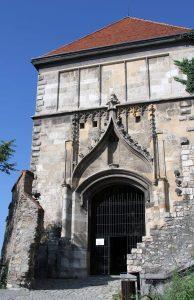 Sigismund Gate at Bratislava Castle.