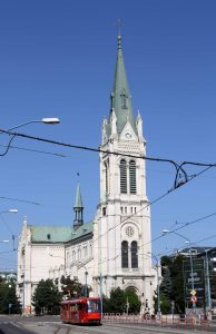 Blumental Church in Bratislava.