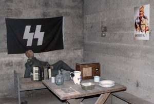 Room inside the bunker.