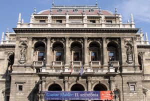 The Hungarian State Opera House, which opened in 1884 AD.