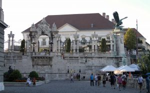 The White Gate at Buda Castle.