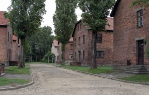 Buildings in Auschwitz I.