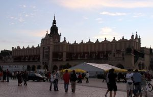 Cloth Hall, the market in Kraków's Main Square.