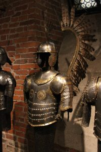 "Armor of a Polish Hussar (or ""Winged Hussar""), a type of cavalry in the Polish-Lithuanian Commonwealth army during the 16th- to 18th-centuries AD."