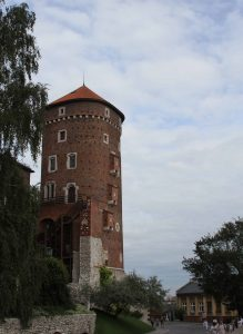 Sandomierz Tower on Wawel Hill.