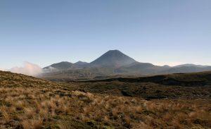 Another view of Mount Ngauruhoe.