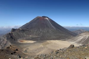Mount Ngauruhoe and South Crater in view.