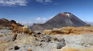 Another view of Mount Ngauruhoe, seen from the northern end of South Crater.