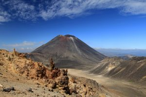 "Looking at Mount Ngauruhoe and thinking, ""Who needs Rekall? This is what blue skies on Mars would look like."""