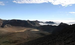 Looking at South Crater from Mount Ngauruhoe.