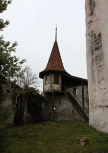 Small watch tower at Thun Castle.