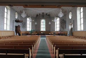 Inside the Stadtkirche.