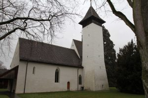 Kirche Scherzligen - a church that dates back to 762 AD.
