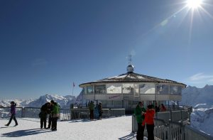 Piz Gloria on the top of Schilthorn.