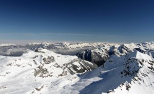 Looking north toward Interlaken, from Piz Gloria.