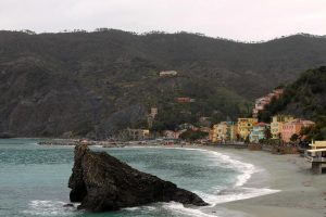 Another view of the beach at Monterosso al Mare.