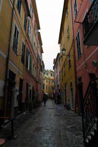 Street in Monterosso al Mare.