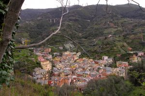 Another view of the east part of Monterosso al Mare.