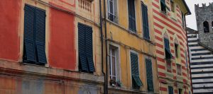 Colorful buildings in Monterosso al Mare.