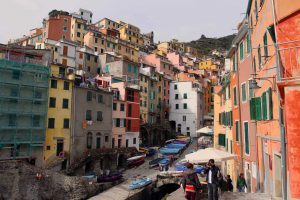 Riomaggiore (another one of the five towns that make up Cinque Terre).
