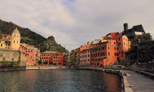 Vernazza seen from the quay.
