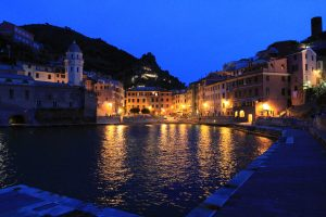 Vernazza at night.