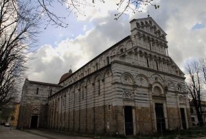 """San Paolo a Ripa d'Arno (""""St. Paul on the Bank of the Arno"""" - locally, it is known as """"Duomo Vecchio""""); this church dates back to the 10th-century AD."""