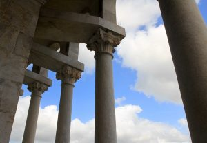 Columns on the Leaning Tower.