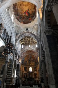 The interior of the Cathedral.