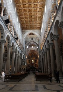 Another view of the interior of the Cathedral.