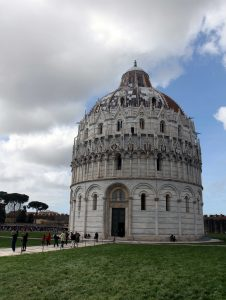 The Pisa Baptistry.
