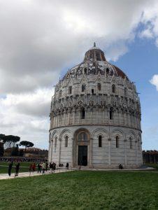 The Pisa Baptistry.