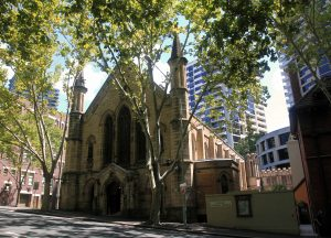 St. Patrick's Church, which has been in the care of the Marist Fathers since 1868 AD.