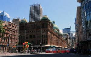 """The Queen Victoria Building (or """"QVB""""), built in 1898 AD as a marketplace."""