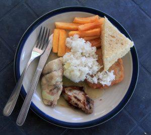 My lunch on Epi Island.