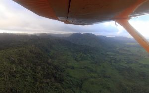 The terrain just north of Port Vila, on Efate Island.