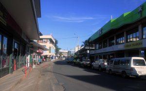 Main street in Port Vila.