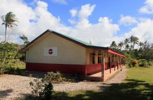 Schoolhouse at Epao Village - where some of the children sang a few songs for us on our tour around Efate Island.